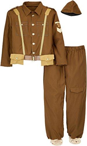Weltkrieg Erwachsene 2 Für Kostüm - Rubie 's Offizielles 2. Weltkrieg Soldat, Erwachsenen-Kostüm-X-Large