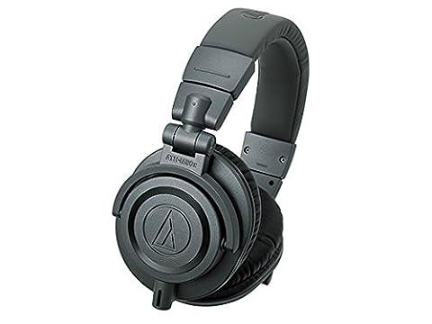 Audio-Technica ATH-M50X Casque de studio professionnel–Noir Matte Grey