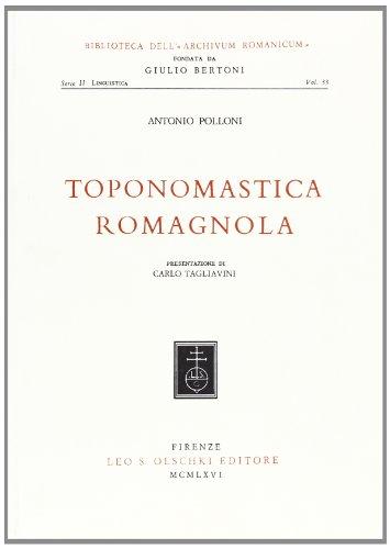 Toponomastica romagnola