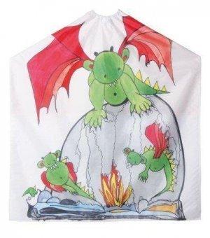 Efalock Professional Kinderumhang Fire Dragon 95 x 130 Hakenverschluß, 1er Pack, (1x Stück)