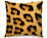 Leopard Animal Fur Print Sofa Cushion Cojín para Sofá - (45x45cm) Medium