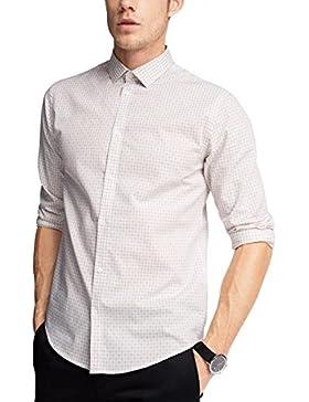 ESPRIT Collection Herren Businesshemd 056eo2f006 mit Struktur