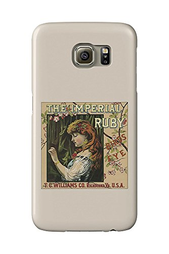 Richmond, Virginia - The Imperial Ruby Birds Eye Brand Tobacco Label (Galaxy S6 Cell Phone Case, Slim Barely There) - Imperial Ruby