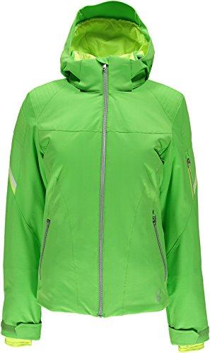 Spyder Project Tailored Fit Jacket–Damen Skijacke, grün, Gr. 4 (Spyder Project Jacket)