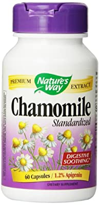 Nature's Way, Chamomile, Standardised, 60 Capsules by Nature's Way