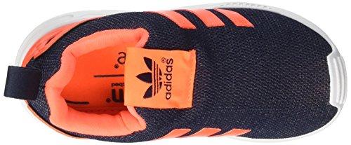 adidas Zx Flux 360 I, Chaussures Premiers Pas pour Bébé Unisexe-Enfants de 0 à 24 mois Multicolore - Multicolore (Legink/Sorang/Ftwwht)