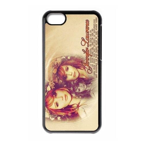 LP-LG Phone Case Of Jennifer Lawrence For Iphone 5C [Pattern-6] Pattern-1