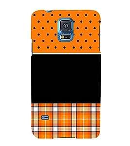 For Samsung Galaxy S5 Neo :: Samsung Galaxy S5 Neo G903F :: Samsung Galaxy S5 Neo G903W man with bike ( man with bike, bike race, black background ) Printed Designer Back Case Cover By TAKKLOO