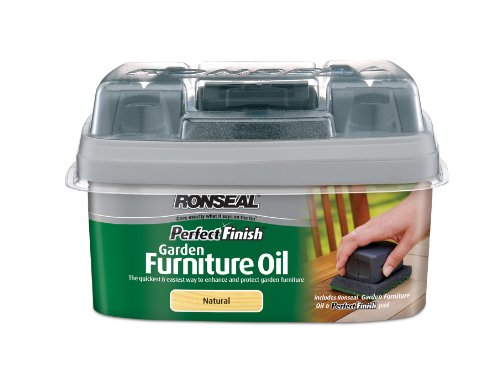 Ronseal GFON750 750ml Perfect Finish Hardwoodgarden Furniture Oil - Natural