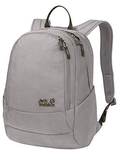 Jack Wolfskin Perfect Day, bequemer Rucksack mit breiten Gurten, DIN-A4-tauglicher Tagesrucksack, Backpack mit guter Lastenverteilung für Alltag und Freizeit, clay grey, ONE SIZE