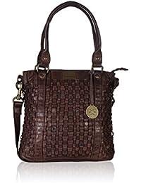 KOMPANERO Dark Brown Ladies Handbag