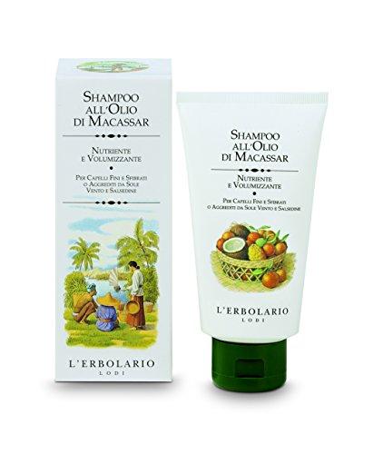 L'Erbolario Macassaröl Shampoo, 1er Pack (1 x 150 ml)