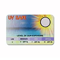 Ultra Violet (UV) Sun Strength Warning Monitor Safety Detector - Protect and care for your skin against Sunburn. Baby Child Adult