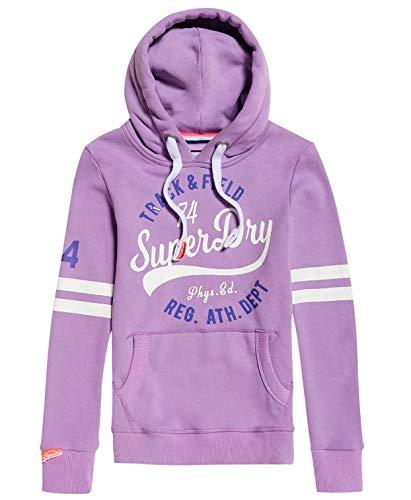 double coupon top design site professionnel Superdry Track & Field Lite Hood Capucha, Morado (Track Purple V2p), Medium  (Talla del Fabricante: 12) para Mujer
