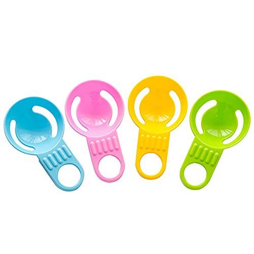 Amgend 4 Stücke Kreative Eiweißseparator Eigelb Eier Ei Filter Kunststoff Küche Backen Ei Gold-ei Cup