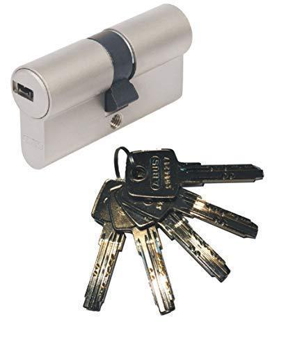 ABUS EC550 Profil-Doppelzylinder Länge 30/30mm mit 5 Schlüssel