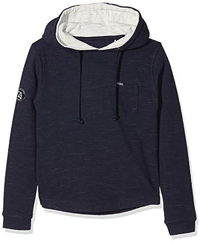 Deeluxe Closer Fl B, Sweat-Shirt Garçon, Bleu (Navy), 16 Ans (Taille Fabricant: 16)
