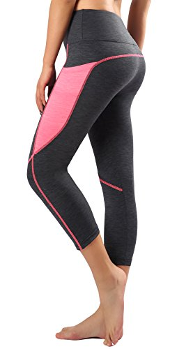 Sugar Pocket Legging de Sport Femme Stretch Yoga Jogging Fitness Running Taille Haute avec Poche