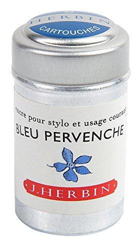 J hebrin écriture Cartouches d'encre – Perin Winkle Bleu (Lot de 6)