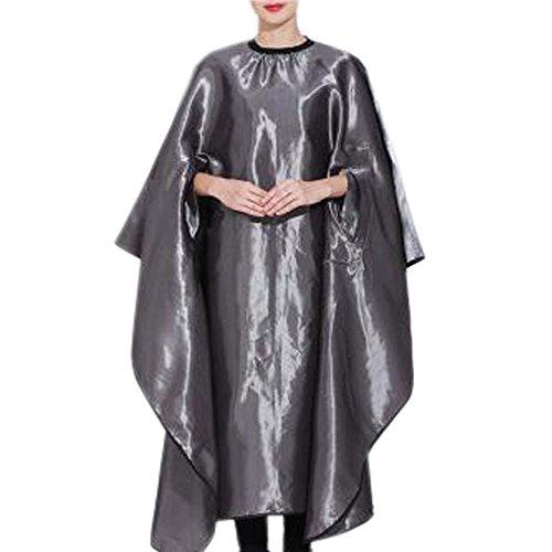 Coiffure robe en tissu coupe de cheveux tablier Wrap Protection Hair Design Couper les cheveux Cap