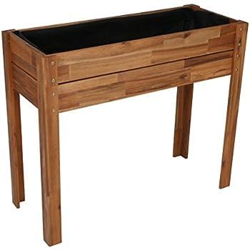 hochbeet auf r dern garten. Black Bedroom Furniture Sets. Home Design Ideas