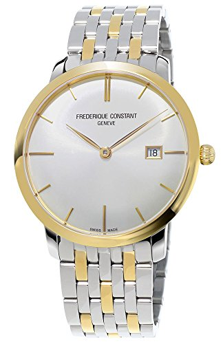 Frederique Constant Slimline Automatic FC-306V4S3B2 40mm Automatic Stainless Steel Case Multicolor Metal Anti-Reflective Sapphire Men's Watch