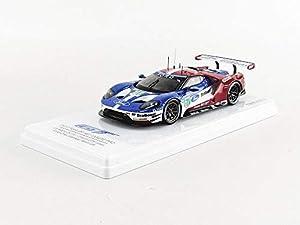 Truescale Miniatures TSM430287 - Coche en Miniatura, Color Azul, Rojo y Blanco