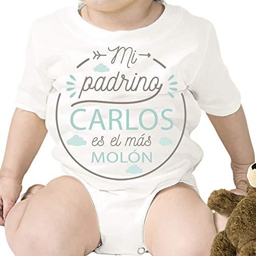 Regalo personalizado: body para bebé 'Padrino Molón' personalizado c