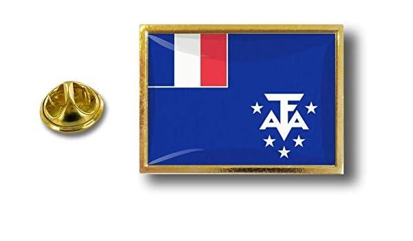 pins pin badge pin/'s metal  pince papillon drapeau taaf austral artiques