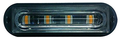 LED Voiture Car Avertissement 6modes flash 12V 4W de danger de sécurité d'urgence de la torche électrique Grille Du précipité de la plate-forme Strobe Light Lamp Bar KM202–4C personalizzare