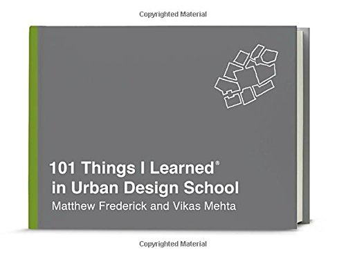 Read Pdf Popular Book 101 Things I Learned In Urban Design School