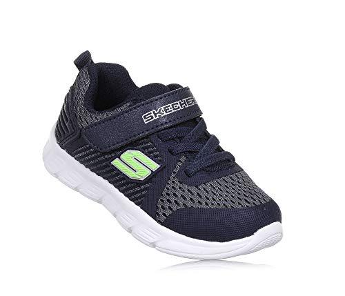 Skechers Boys Comfy Flex Hyper Stride Lightweight Sport Trainers Shoes