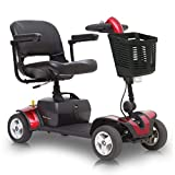 Pride GoGo Elite Traveller Sport Mobility Scooter 4mph suspension seat 18 amp