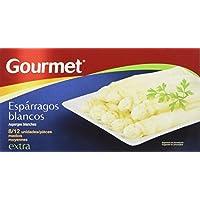 Gourmet - Espárragos Blancos - 8/12 Medianos - 125 g - [Pack de 4]