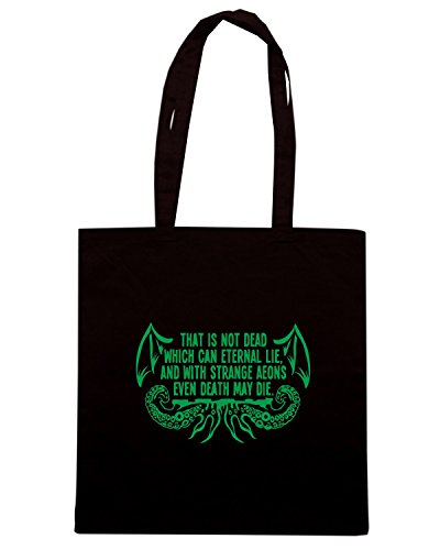 T-Shirtshock - Borsa Shopping FUN0065 03 30 2014 Necronomicon T SHIRT det Nero
