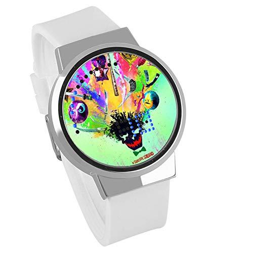 ando wasserdicht Touch Watch X Task Force Selbstmordkommando Clown weibliche LED-Uhr ()
