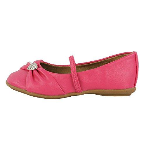 Children's Kids Infant Girl's Flat Ballerinas Pumps Ballet Slipper Shoes:  Amazon.co.uk: Shoes & Bags
