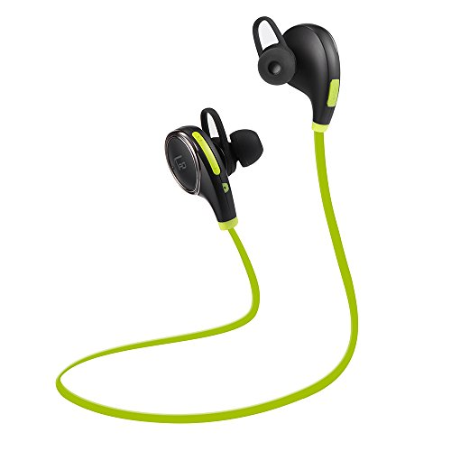 TaoTronics Bluetooth Kopfhörer 4.0 Wireless Sport Stereo Headset mit AptX Technologie und Mikrofon der Freisprechfunktion In-Ear-Kopfhörer für Handys iPhone iPad Laptops Tablets Smartphones