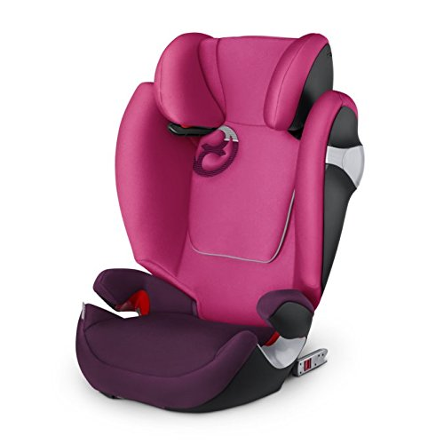 Cybex Gold Solution M-fix, Autositz Gruppe 2/3 (15-36 kg), Kollektion 2017, mystic pink, mit Isofix
