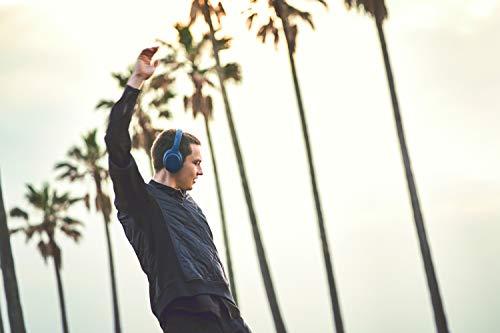 Sony WH-XB900N Bluetooth Noise Cancelling Kopfhörer (Extra Bass,30h Akku, Amazon Alexa & Google Assistant, Gestensteuerung) Blau - 10