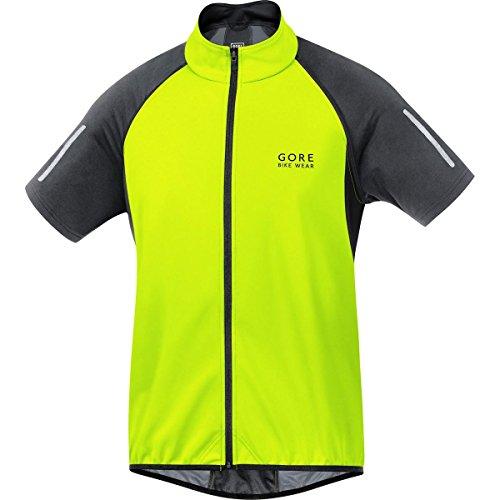 Gore Bike Wear Herren Phantom 2.0 Windstopper Soft Shell Jacke Neon Yellow/Black