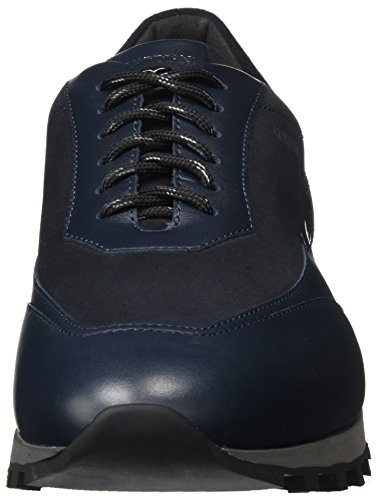 Alberto Guardiani Forrest As, Baskets Basses Bleues Pour Homme