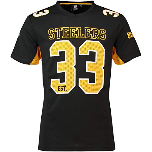 Majestic NFL Polymesh Jersey Shirt Pittsburgh Steelers - 3XL (3xl Steelers Pittsburgh)