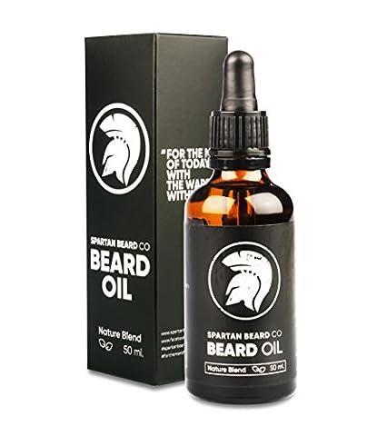 Spartan Beard Co. – Beard Oil – Nature Blend - Make Your Beard Stronger, Healthier and More Kissable Than Ever Before – 100% Money Back