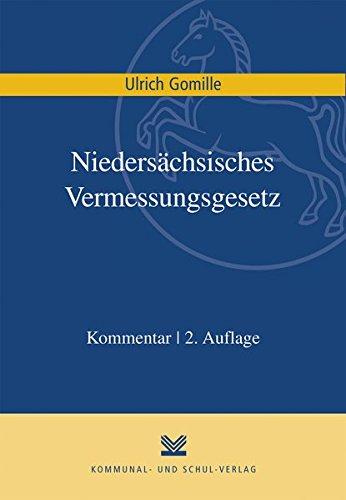 Preisvergleich Produktbild Niedersächsisches Vermessungsgesetz: Kommentar