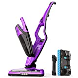 Homever Cordless Vacuum Cleaner, 2 in 1 Upright Stick Cordless Bagless Vacuum