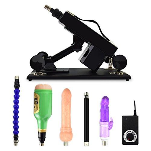 YOTEFUN Automatische Sex-Maschine F**kmaschine Sex-Spielzeug mit Dildo Analdildo Masturbator Cup und Stufenlosem Stärkeregler (TSCP - A2)