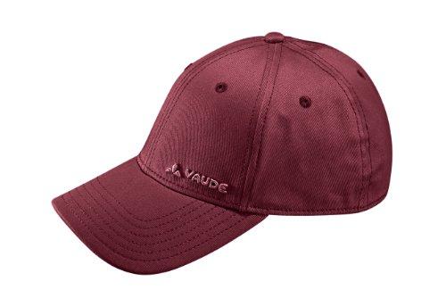 VAUDE 04591Cap logo Green Cap, unisex, Mütze VD Logo Cap, Red - Salsa, Taglia unica