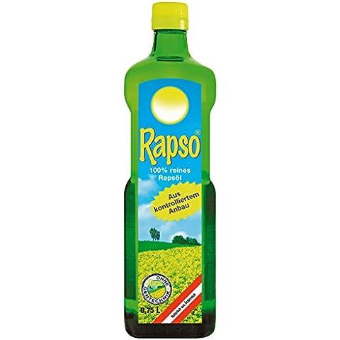 Rapso 100% olio di colza puro 750ml, 1er Pack (1x