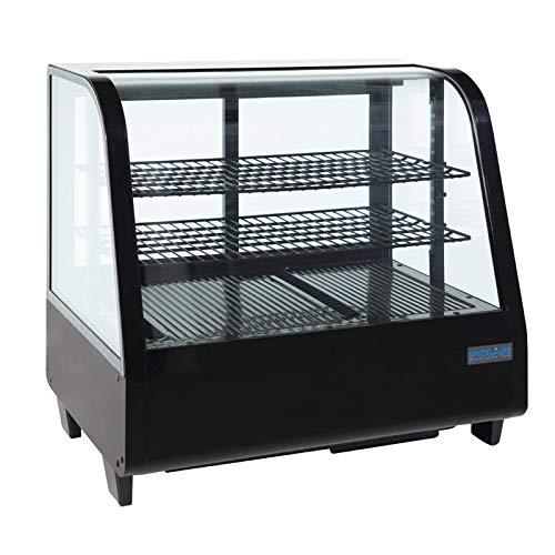 Polar mostrador refrigerado Merchandiser pantalla